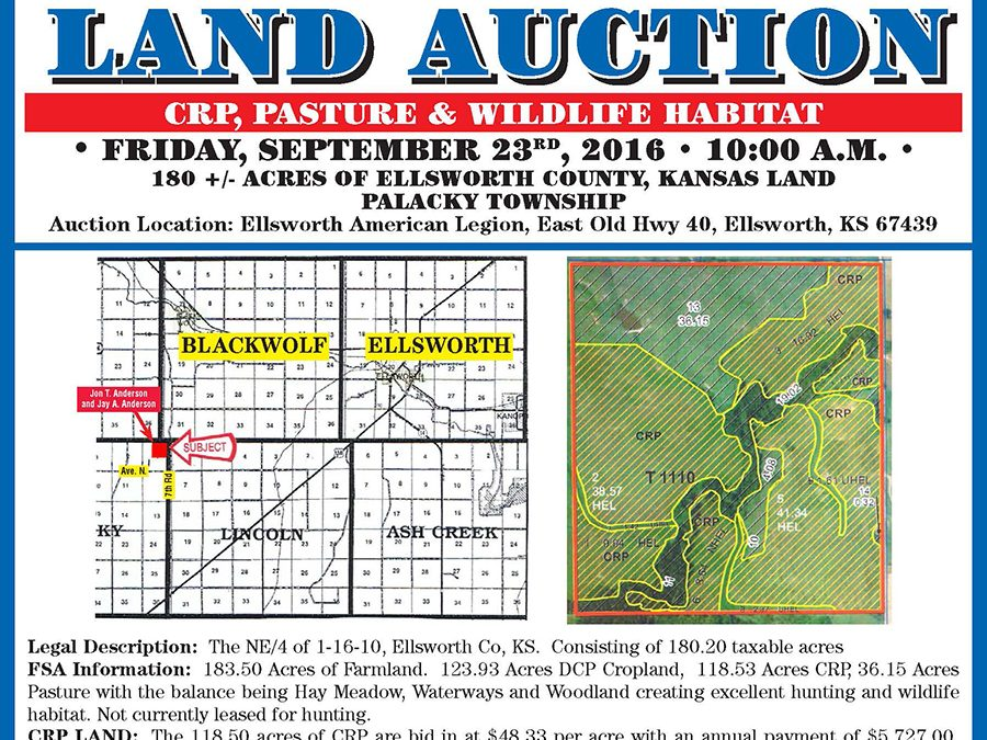 Anderson Land Auction